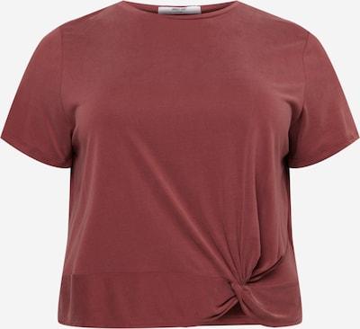 ABOUT YOU Curvy T-Krekls 'Silva', krāsa - zeltaina kastaņkrāsa, Preces skats