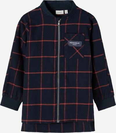 NAME IT Jacke in dunkelblau / rot, Produktansicht