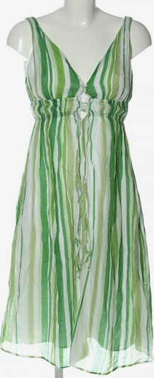 ZARA Sommerkleid in M in grün / weiß, Produktansicht