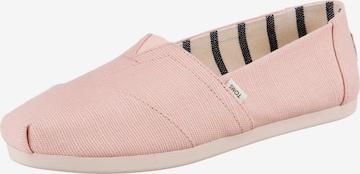 Slipper di TOMS in rosa