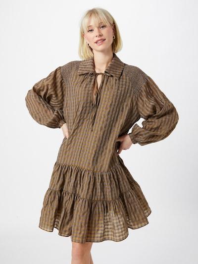 GLAMOROUS Kleid in oliv, Modelansicht