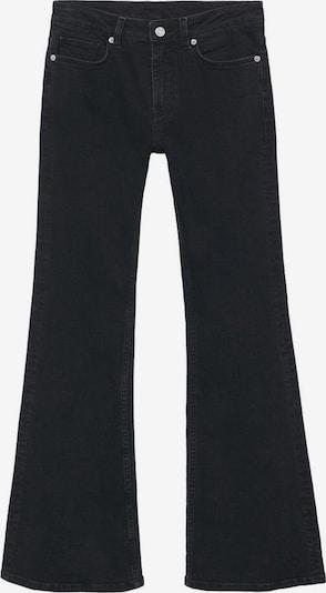 Jeans MANGO pe negru denim, Vizualizare produs