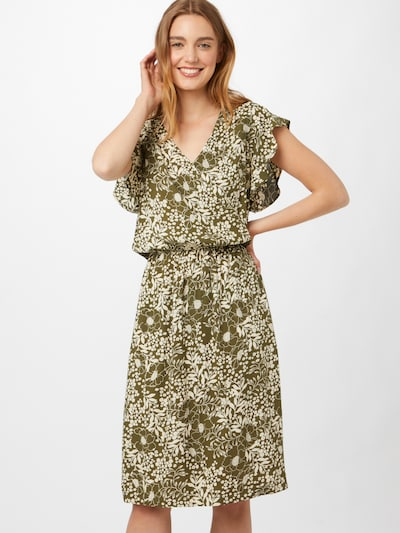 Rochie 'Tisha' SAINT TROPEZ pe verde / alb, Vizualizare model