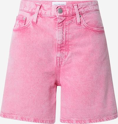 Calvin Klein Jeans Дънки в бледорозово / черно / бяло, Преглед на продукта