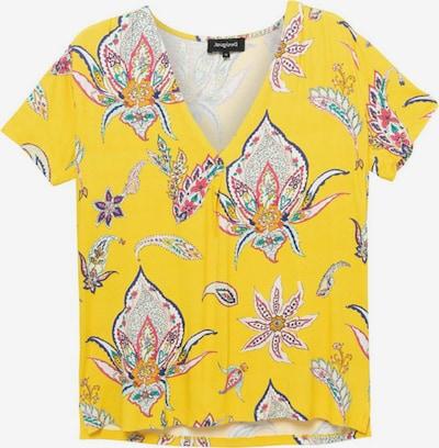 Desigual T-shirt 'LEMARK' i gul / blandade färger, Produktvy