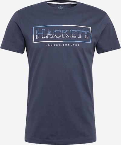 Hackett London T-Shirt in navy / hellblau / weiß, Produktansicht