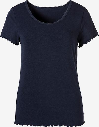 s.Oliver Slaapshirt in de kleur Nachtblauw, Productweergave