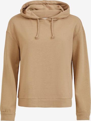 VILA Sweatshirt 'Rustie' in Beige