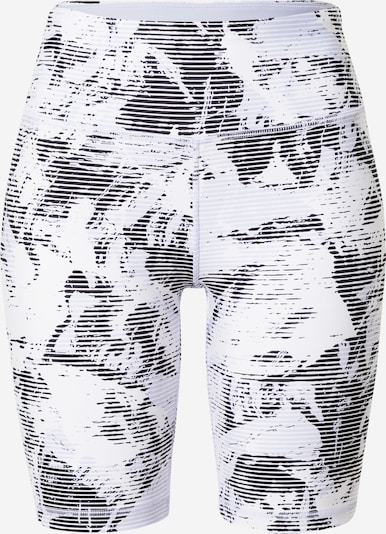 Pantaloni sport DKNY Performance pe albastru noapte / azur / alb, Vizualizare produs