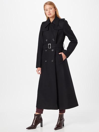IVY & OAK Mantel in schwarz, Modelansicht
