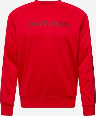 Sportinio tipo megztinis iš Calvin Klein Performance, spalva – vyšninė spalva / juoda, Prekių apžvalga