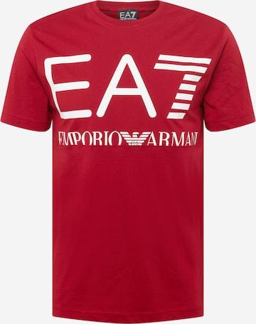 T-Shirt EA7 Emporio Armani en rouge
