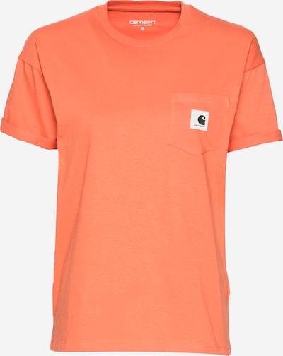 Carhartt WIP T-shirt en orange, Vue avec produit