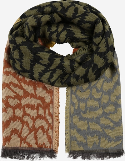 CODELLO Scarf 'WILD ISLAND' in Olive / Mixed colors, Item view