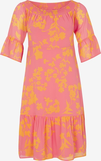 COMMA Kleid in orange / hummer, Produktansicht