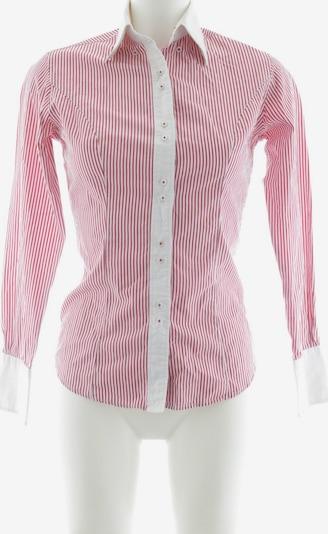 TM Lewin Hemd-Bluse in XS in dunkelrot / weiß, Produktansicht