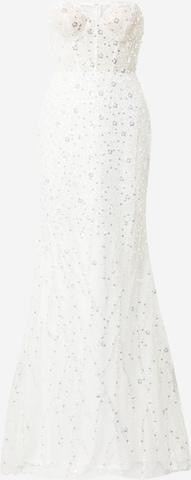 Unique Večerné šaty - biela