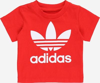 ADIDAS ORIGINALS T-Shirt en rouge / blanc, Vue avec produit