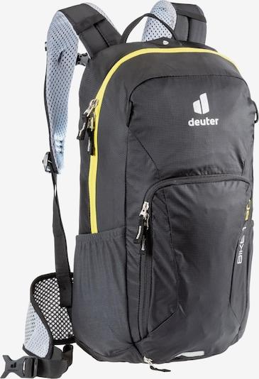 DEUTER Sportrucksack 'Bike I 20' in gelb / schwarz / weiß, Produktansicht