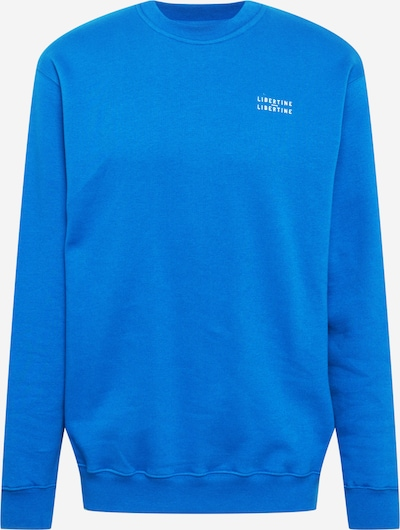 Libertine-Libertine Sweatshirt 'Society' in blau / weiß, Produktansicht