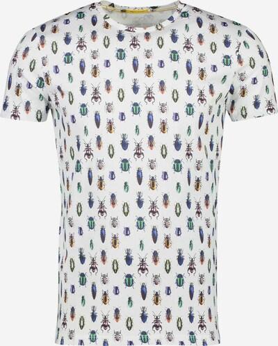 NEW IN TOWN Print-Shirt in mischfarben / weiß, Produktansicht