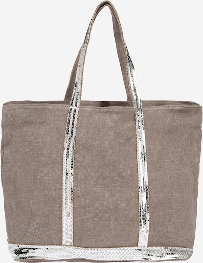 Vanessa Bruno Nákupní taška 'CABAS' - šedobéžová / stříbrná, Produkt