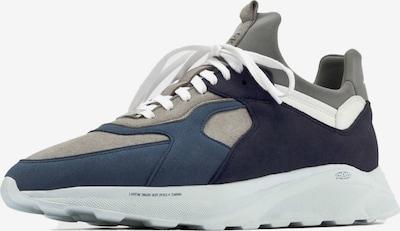 EKN Footwear Sneakers laag 'Larch' in de kleur Navy / Nachtblauw / Greige / Donkergrijs / Wit, Productweergave