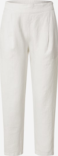 Klostuotos kelnės iš 120% Lino , spalva - balta, Prekių apžvalga