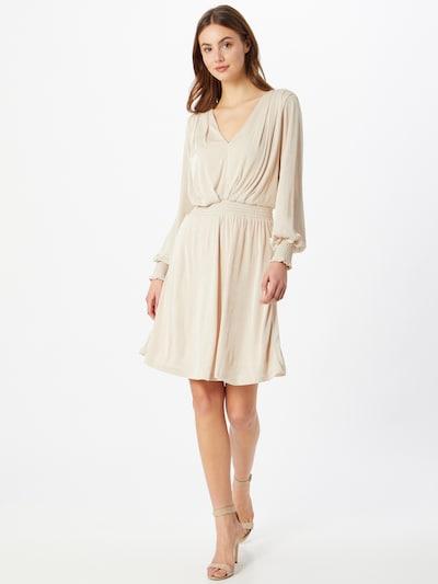 SISTERS POINT Kleid 'Esia' in beige / silber, Modelansicht