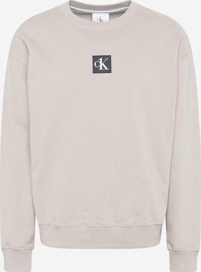 Calvin Klein Jeans Sweatshirt in anthrazit / hellgrau / weiß, Produktansicht