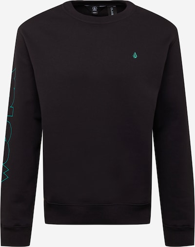 Volcom Sweatshirt in Neon blue / Neon purple / Black, Item view