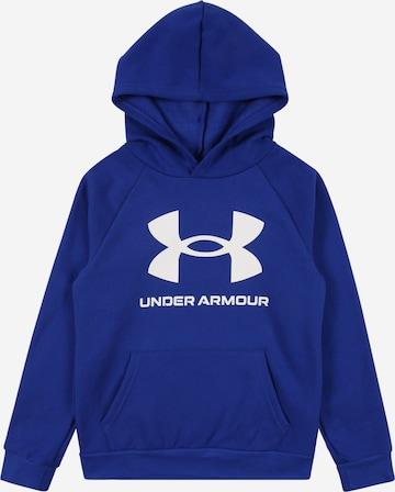 UNDER ARMOUR Athletic Sweatshirt in Blue