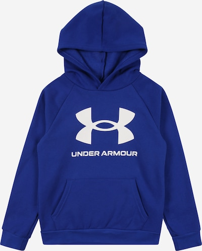 UNDER ARMOUR Sportsweatshirt in blau / weiß, Produktansicht