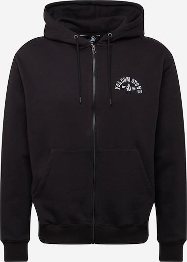 Volcom Sweat jacket in Black / White, Item view