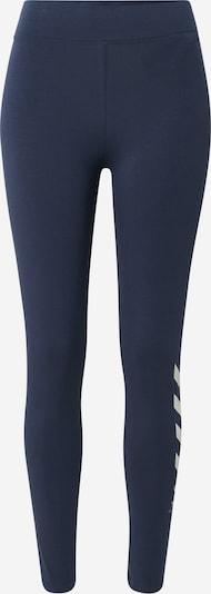 Hummel Sporthose in dunkelblau / weiß, Produktansicht
