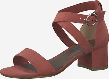 Sandales à lanières TAMARIS en rouge