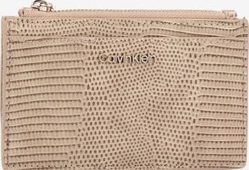 Calvin Klein Portemonnaie in Beige
