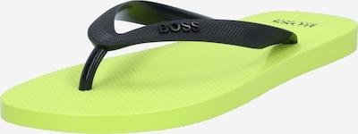 BOSS Casual Žabky - svítivě zelená / černá, Produkt