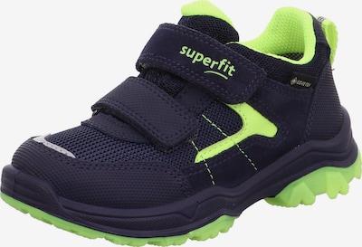 SUPERFIT Schuh 'Jupiter' in navy / neongelb, Produktansicht