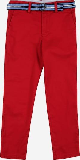 POLO RALPH LAUREN Hose 'EPPY' in royalblau / rot, Produktansicht