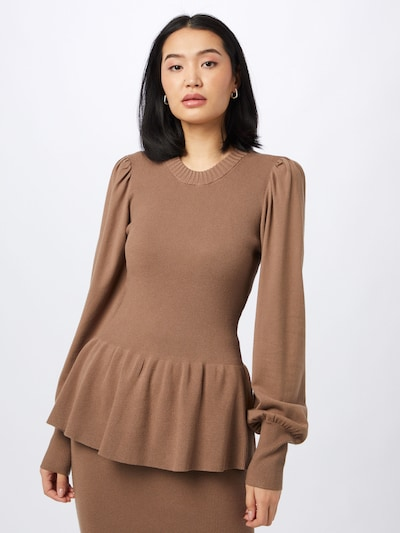 Designers Remix Sweater 'Mandy' in Brown, View model