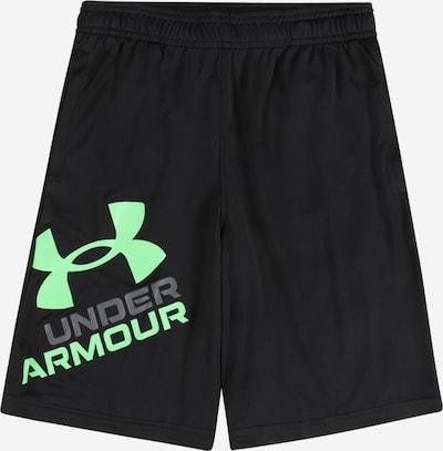 Pantaloni sport 'Prototype 2.0' UNDER ARMOUR pe gri închis / verde neon / negru, Vizualizare produs
