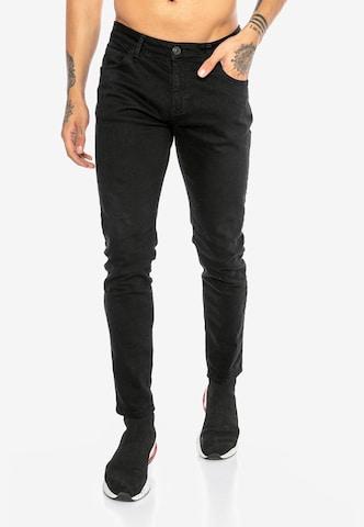Redbridge Jeanshose 'Saitama Colored' in Schwarz
