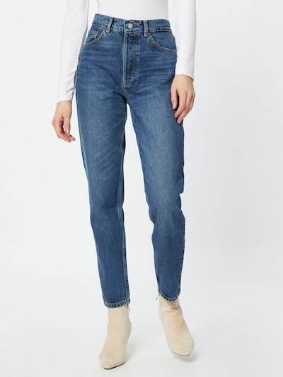 Boyish Jeans 'BILLY' in blue denim, Modelansicht