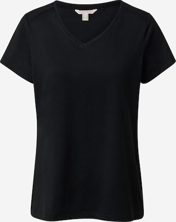 ESPRIT SPORT Λειτουργικό μπλουζάκι σε μαύρο