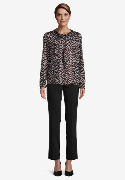 Betty Barclay Blouse in Dark red / Black, View model