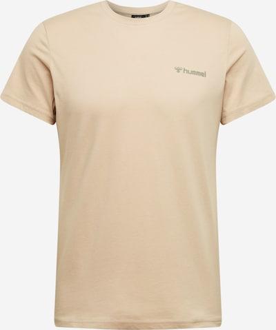 Hummel Funkční tričko 'Toronto' - světle hnědá / khaki / bílá, Produkt