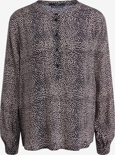 SET Bluse in beige / schwarz, Produktansicht
