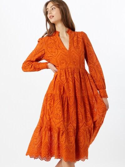 Y.A.S Kleid 'Holi' in orange, Modelansicht