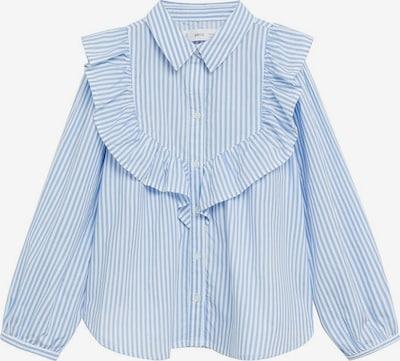 MANGO KIDS Bluse 'jane' in blau / weiß, Produktansicht